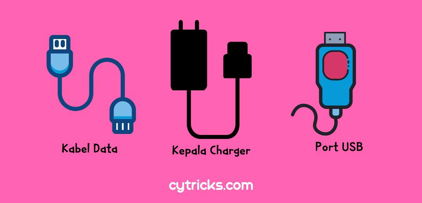 3 Permasalahan kerusakan charger hp
