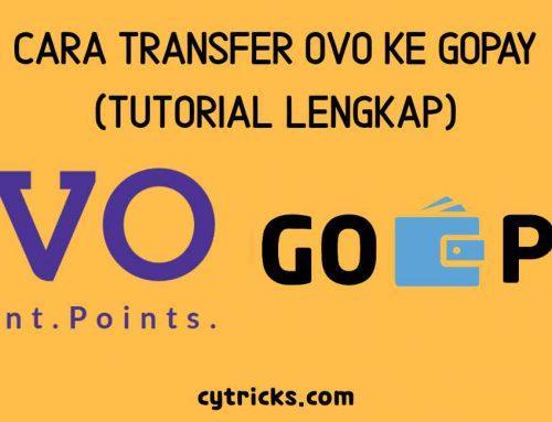 Cara Transfer OVO Ke GoPay [UPDATE 2020], Begini Tutorialnya