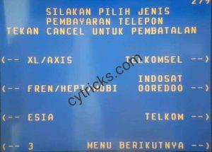 Pilih Operator Pulsa XL/Axis, Telkomsel, Indosat Ooredoo, 3, dan lainnya