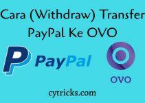 Ini Dia!! Cara Transfer PayPal ke OVO 2021 WITHDRAW LANCAR