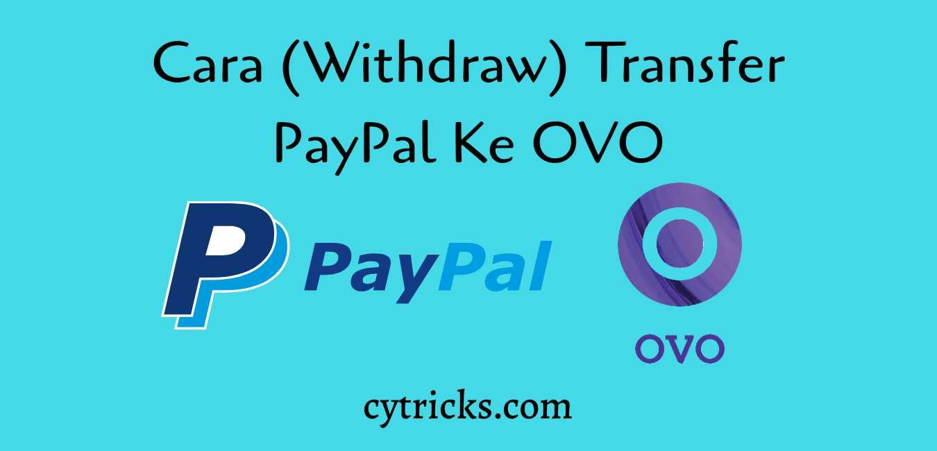 Cara transfer PayPal ke OVO