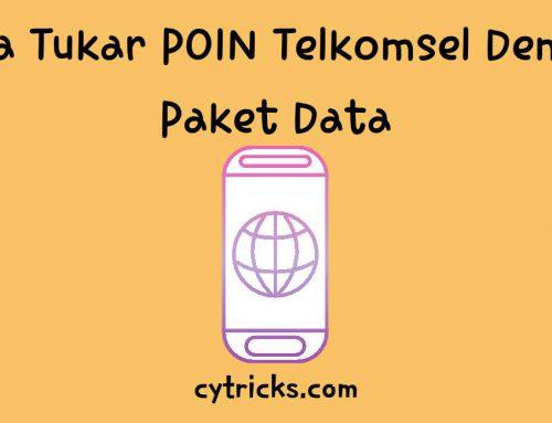 [UPDATE!!] Cara Tukar POIN Telkomsel Dengan Paket Data 2020