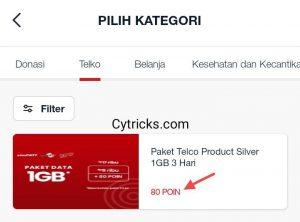 Pilih Paket Data Sesuai POIN Telkomsel