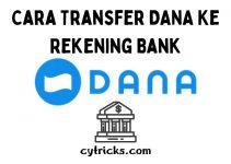 Cara Transfer DANA Ke Bank 2021 Dengan Mudah Pasti Berhasil