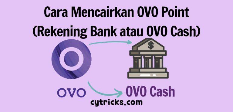 Cara Mencairkan OVO Point