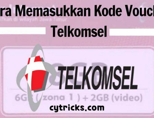 [TERBARU] Cara Memasukkan Kode Voucher Telkomsel 2020 Mudah