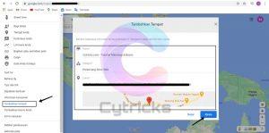 Tambahkan Tempat Di Google Maps (Browser)
