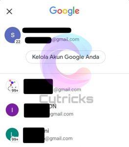 Cara Melihat Alamat Email Sendiri di Aplikasi Gmail