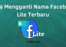 Cara Mengganti Nama Facebook Lite Terbaru 2021 MUDAH BANGET!