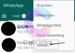 Cara Mematikan Kode Online Di WhatsApp