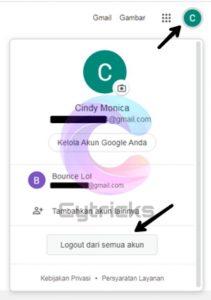 Mudah Cara Log Out Gmail Di Laptop Yang Banyak Akun Terbaru