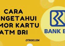 √Berhasil!! Cara Mengetahui Nomor Kartu ATM BRI Paling MUDAH