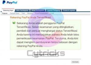 Cara Verifikasi Paypal Dengan Jenius