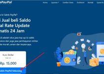 Cara Isi Saldo PayPal Dengan Bank Transfer BCA, BNI, BRI, Mandiri